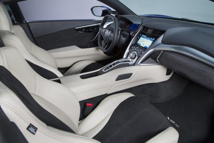 Acura NSX 2017, montando 3 motores para ser el mejor híbrido