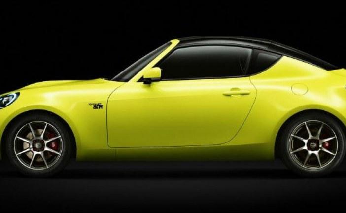 Toyota S-FR, un coupe concept muy avanzado