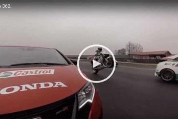 El Honda Civic Type R contra el WTCC y una MotoGP