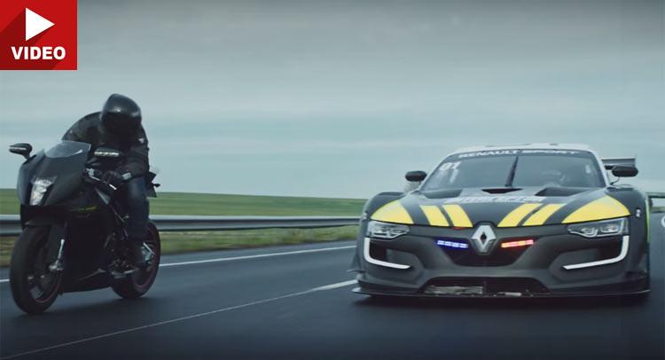 Renault Sport R.S. 01, ni una Superbike consigue despegarse de él