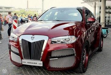 BMW X6, la versión mas fea del mundo vale 100.000$