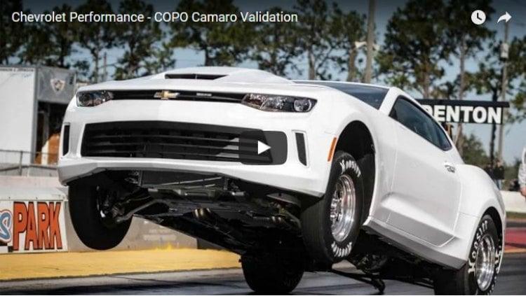Chevrolet Camaro COPO, un coche con el que es difícil permanecer pegado al asfaltado