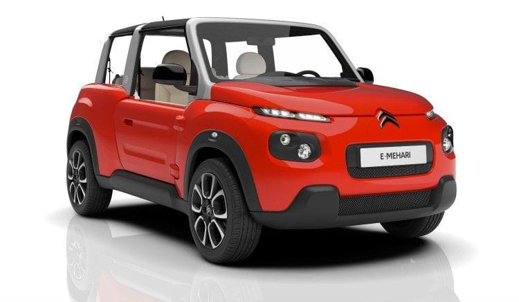Citroen e-Mehari, un coche que quiere recuperar una filosofía de vidaCitroen e-Mehari, un coche que quiere recuperar una filosofía de vida
