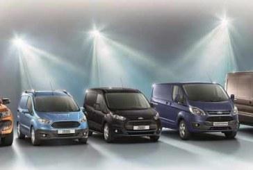 Gama Ford Transit. Nº 1 en ventas de vehículos comerciales en Europa en 2015