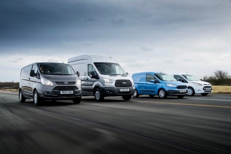 La gama Ford Transit líder en Europa