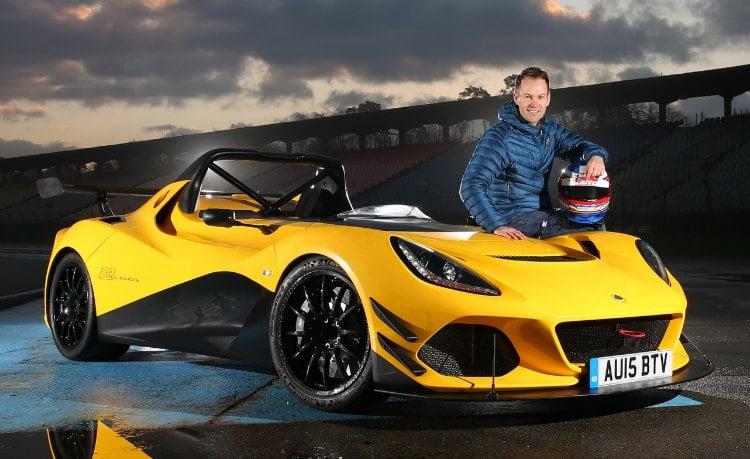 Lotus 3-Eleven, batiendo el récord en el circuito de Hockenheimring