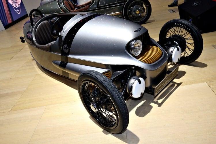 Morgan EV3, el primer Morgan eléctrico y de solo tres ruedas