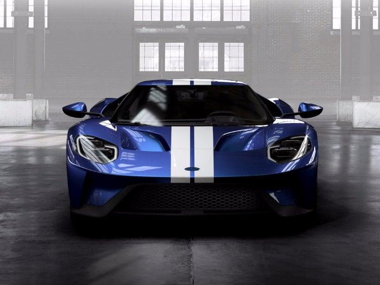 El configurador del Ford GT ya se encuentra disponible