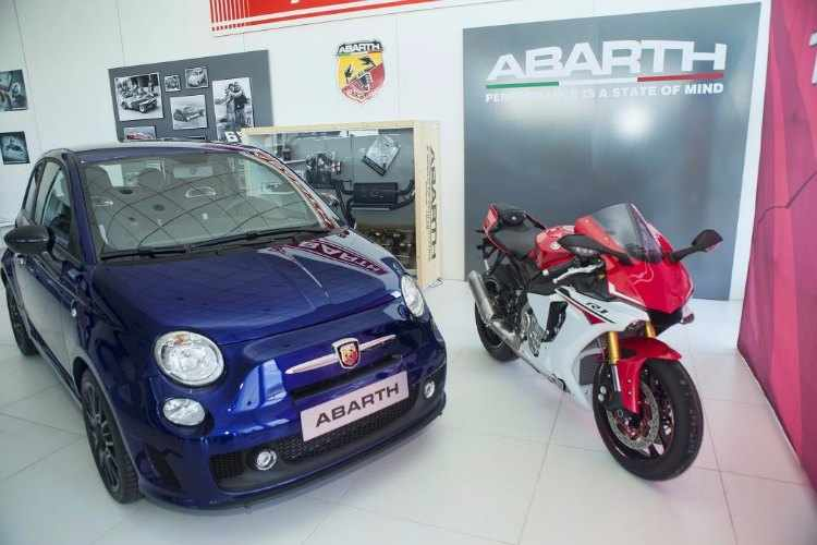 abarth 595 yamaha factory racing 99 limited edition. Black Bedroom Furniture Sets. Home Design Ideas