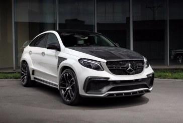 Mercedes Benz GLE Coupe pasa por el cincel de TopCar y se llena de carbono