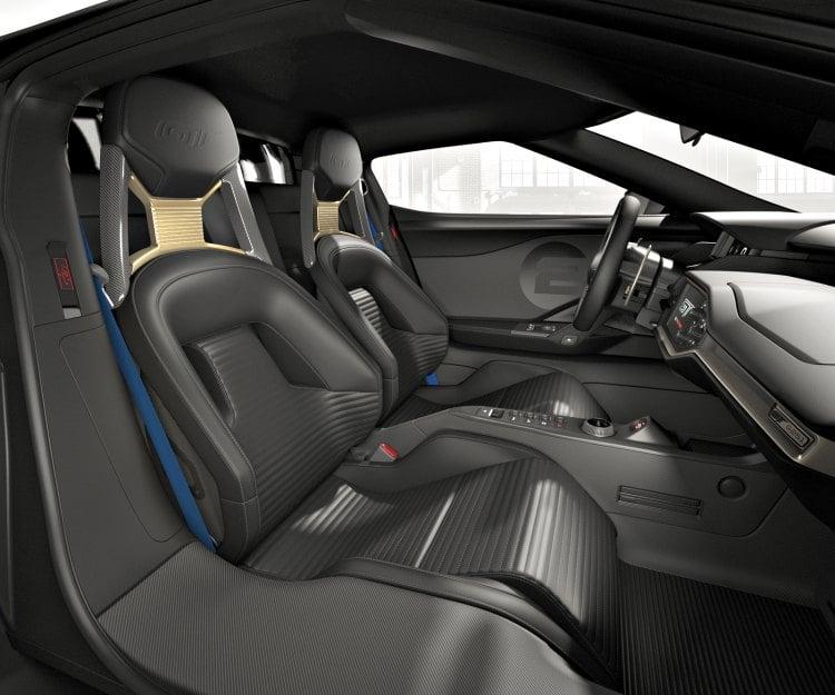 Ford GT Heritage Edition, una serie limitada de un deportivo que aun no ha salido al mercado