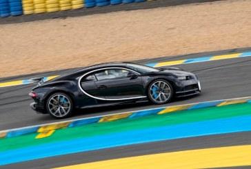 El Bugatti Chiron consigue el récord de velocidad de Le Mans