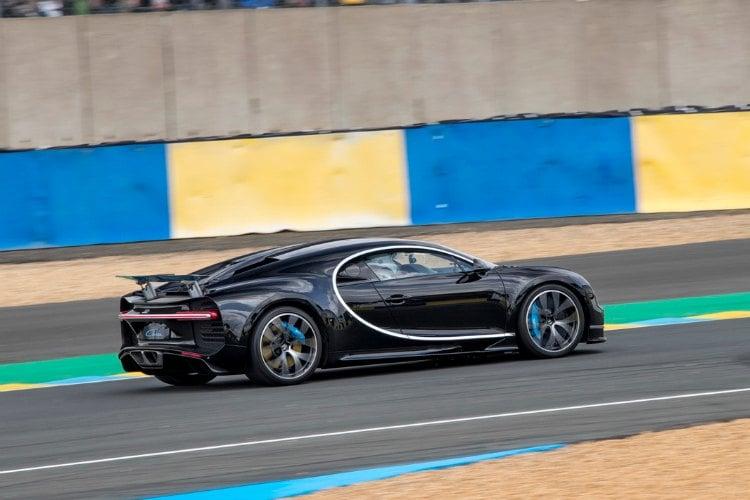El Bugatti Chiron bate consigue el récord de velocidad de Le Mans