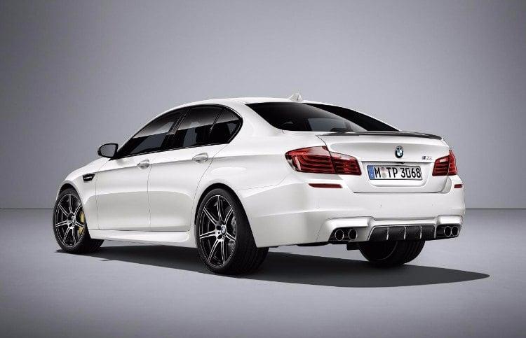 """BMW M5 """"COMPETITION EDITION"""", mas potencia y mejor manejo"""