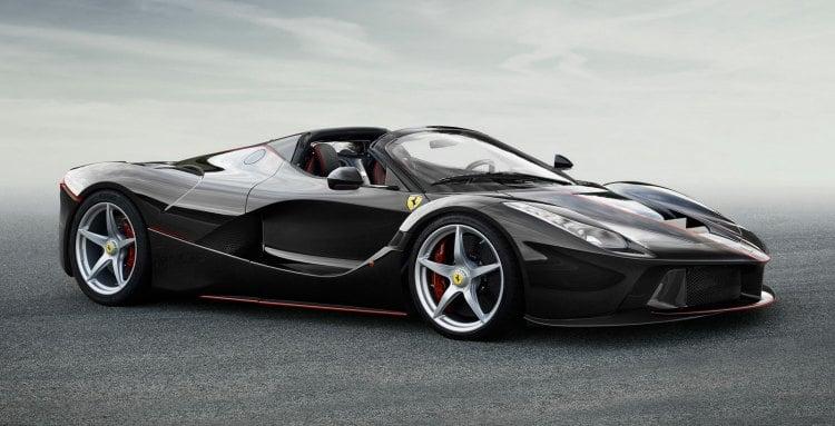 El Ferrari LaFerrari Spider ya es real y nos trae imagenes oficiales