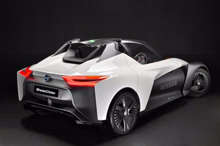 Nissan BladeGlider, el coche eléctrico mas radical fabricado