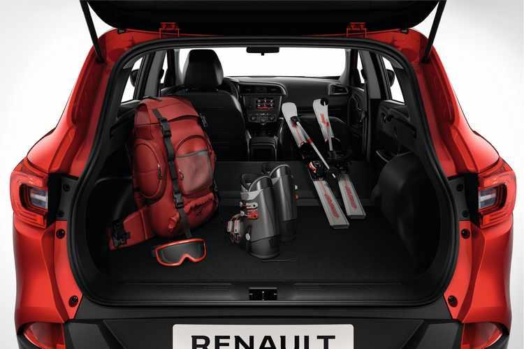 Nuevo Renault Kadjar maletero