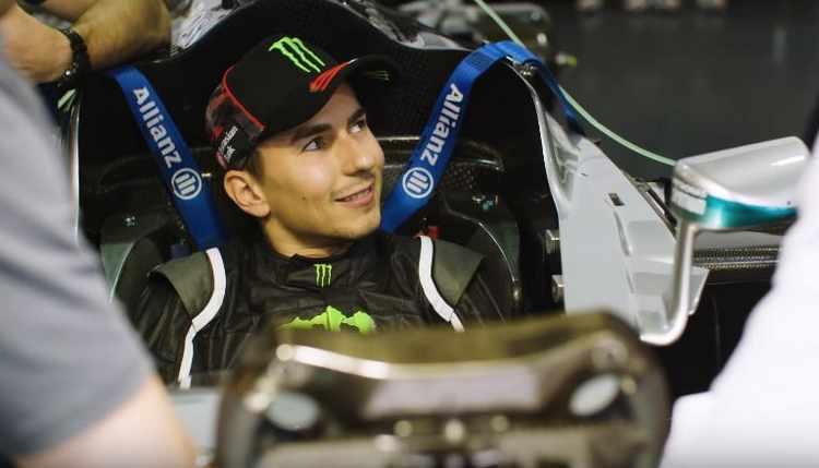 Jorge Lorenzo F1 Mercedes