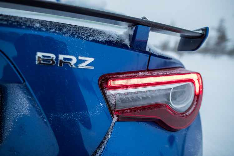 Subaru BRZ 2017 prueba