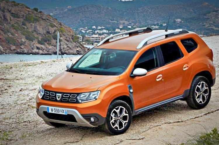 5 todocaminos compactos más vendidos - Dacia Duster