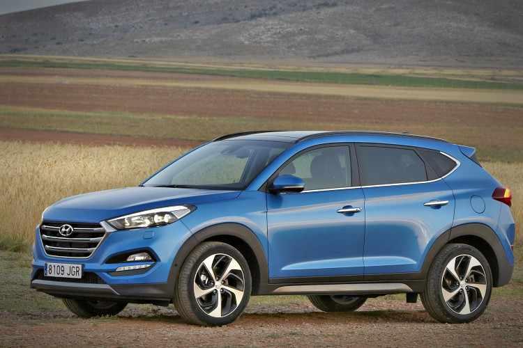 5 todocaminos compactos más vendidos - Hyundai Tucson