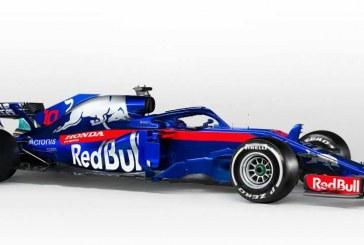 Red Bull Toro Rosso Honda de Fórmula 1 presenta el nuevo STR13