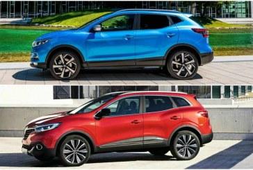Nissan Qashqai VS Renault Kadjar – Dos Todocaminos referencia