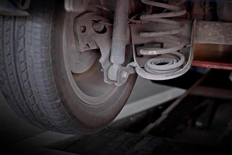suspension coche